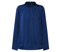 Bluse 'blouse W Gathered C' blau