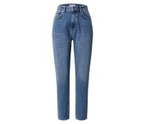 Jeans 'High Rise Straight Jeans' blue denim