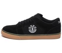 'Heatley' Sneaker schwarz