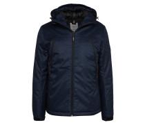 Jacke dunkelblau / schwarz