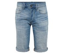 Shorts '3301 1/2' blue denim