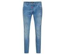 Jeans 'Billy the kid 9933 ripped' blue denim