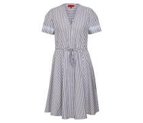Kleid 'Ekiva' blau / weiß