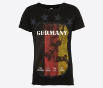 T-Shirt 'MT German Supporter' schwarz