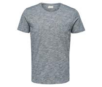 Schlichtes T-Shirt blau