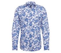 Hemd 'Panko' blau / weiß