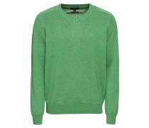 Pullover 'V-Neck' grün