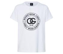 T-Shirt 'rue DE LA Ruine' weiß