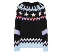 Pullover 'Finnja' mischfarben / schwarz