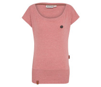 T-Shirt 'Wolle' altrosa