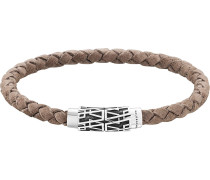 Armband hellbraun / silber