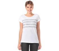 T-Shirt rot / schwarz / weiß