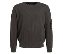 Sweatshirt 'tangent' mokka