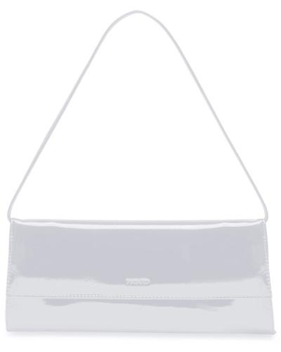 Auguri Damentasche Leder 26 cm weiß