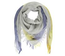 Schal blau / gelb / grau