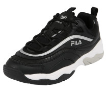 Sneaker 'Ray F' schwarz / silber / weiß