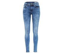 Slim Jeans 'seven NW Super' blue denim