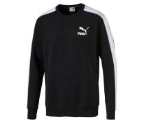 Sweatshirt 't7' schwarz / weiß