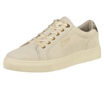 Sneaker gold / wollweiß