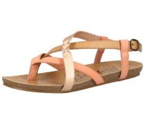 Sandalen puder / rosa / hellbeige