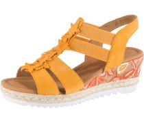 Sandaletten goldgelb