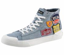 Sneaker 'Snyder' blue denim / weiß