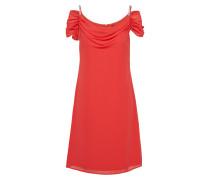 Kleid cranberry / silber