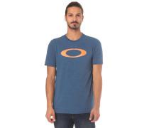 'O-Bold Ellipse' T-Shirt blue denim