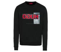Sweatshirt 'Dicago-U1 10184534 01' schwarz