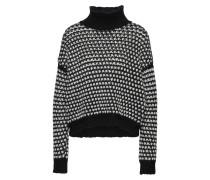 Pullover 'Suzan' schwarz / offwhite