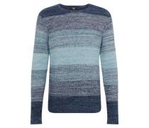 Pullover hellblau / dunkelblau