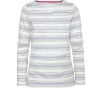 Shirt grau / weiß