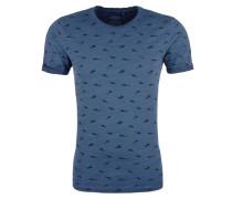 Shirt himmelblau / schwarz