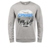 Sweatshirt 'photosnow' grau