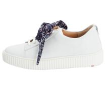 Sneaker mit Schleife weiß