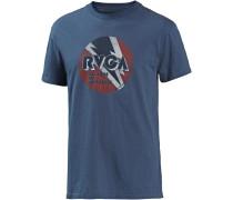 T-Shirt 'Volt' blau