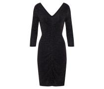 Kleid schwarz / silber