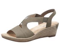 Sandalette khaki