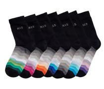 Socken (7 Paar) mischfarben