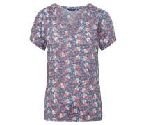 Blusen-Shirt indigo / mischfarben