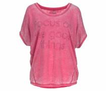 T-Shirt 'Ziva' dunkelpink