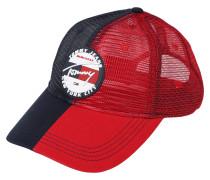 Cap 'heritage' dunkelblau / rot