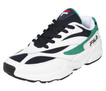 Sneaker 'Venom low' navy / grün / weiß