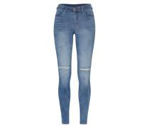 'Lexy' Skinny Jeans stone