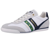Sneaker dunkelblau / grün / weiß