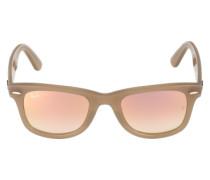 Sonnenbrille 'Wayfarer' sand