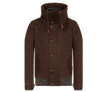 Jacket 'Gurkengünstling' dunkelbraun