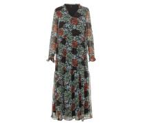 Kleid pastellblau / hummer / schwarz