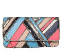Clutch 'Dace' beige / blau / rosa