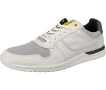 Sneakers Low schwarz / weiß